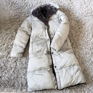Jean Bourget girls warm coat size 8